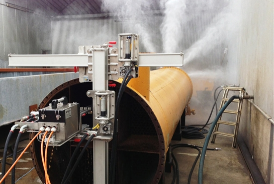 Automated Hydro Jetting Machine