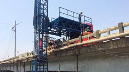 GINJOE MBIU - An Innovative Inspection and Maintenance System for Bridges made for the first time in India