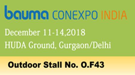 Bauma Conexpo India, 2018